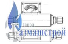 Регулятор давления после себя с сильфонным уплотнением штока с сервоприводом